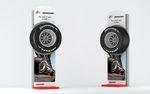 Totem publicitaire pour pneus