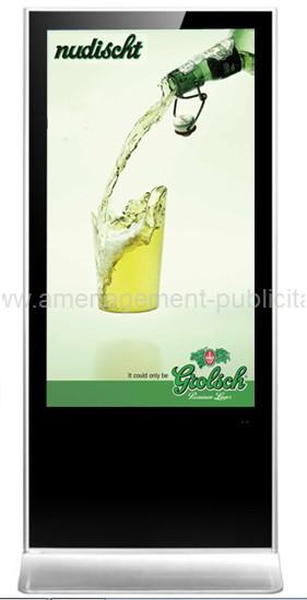 .amenagement-publicitaire-2 écrans numériques