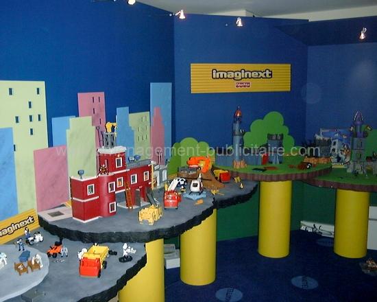 aménagement magasin - shop in shop autour du thème du jouet