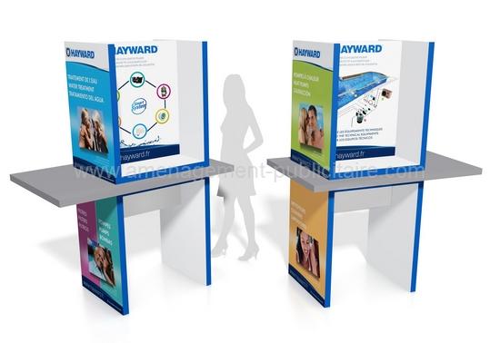 aménagement de magasin - mobilier merchandising