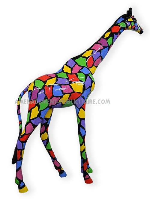 décoration GMS - girafe(L90 X L35 X H190)
