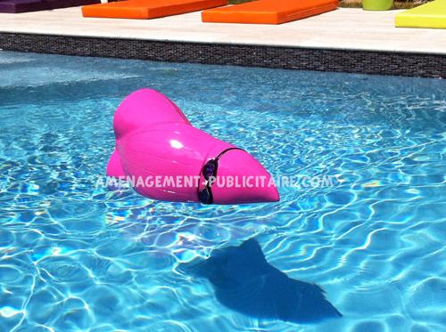 statue en resine - jouet pour piscine